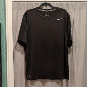 Nike black Dri-fit shirt XL